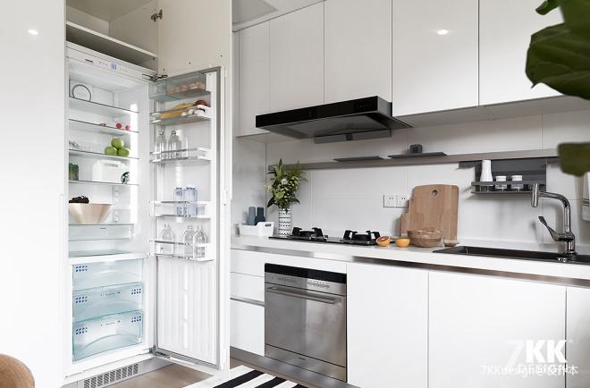 北欧风格清新森系之厨房设计图