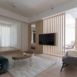 日式风格温暖客厅