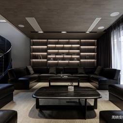 现代风格黑色优雅客厅