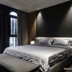 现代风格灰色调卧室