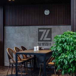 现代风格餐饮客厅设计风格