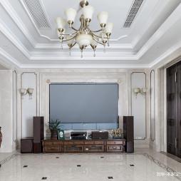 美式风格清美客厅