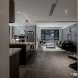 现代风格性冷淡走廊