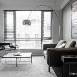 现代风格明亮洁净客厅