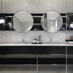 现代风格洗手间设计图