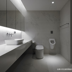 简约风格洗手间设计图