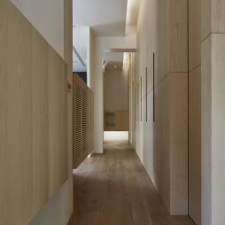 混搭风格走廊