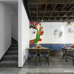中国元素的混搭风格中餐厅设计