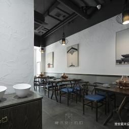 中国元素的混搭风格中餐厅设计1