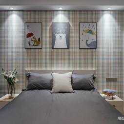 舒适的现代风格四居室儿童房设计