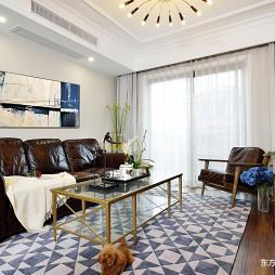 温馨的美式风格别墅客厅设计