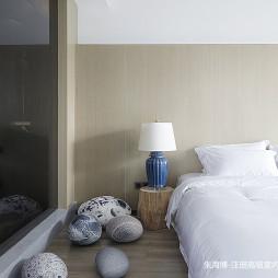 好看的混搭风格度假酒店卧室设计