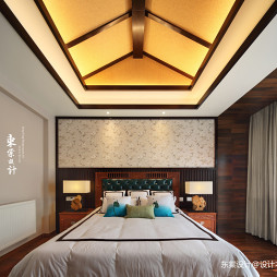 复古的中式卧室设计