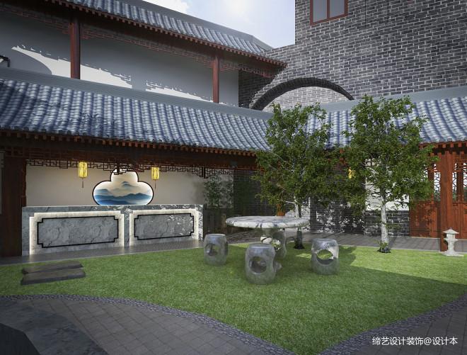 湖南益阳某中式养老院项目--庭院深深