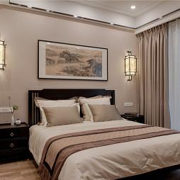 复古的中式风格卧室设计