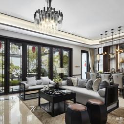 好看的中式风格别墅客厅设计