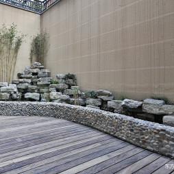 好看的美式风格别墅花园设计