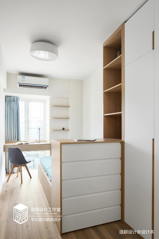 好看的简约风格三居室卧室设计