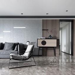 视觉感简约风格四居室客厅设计