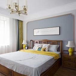 宽敞的中式风格卧室设计