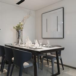 好看的混搭风格展示空间餐厅设计