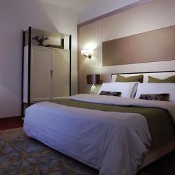 舒适的现代风格豪宅卧室设计
