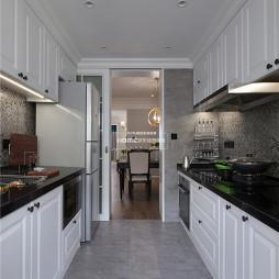 收纳控的精致美式风格厨房设计