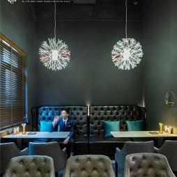 商业空间木蘭酒吧位置设计图