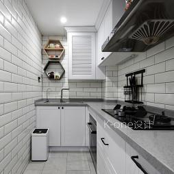 二居美式厨房设计