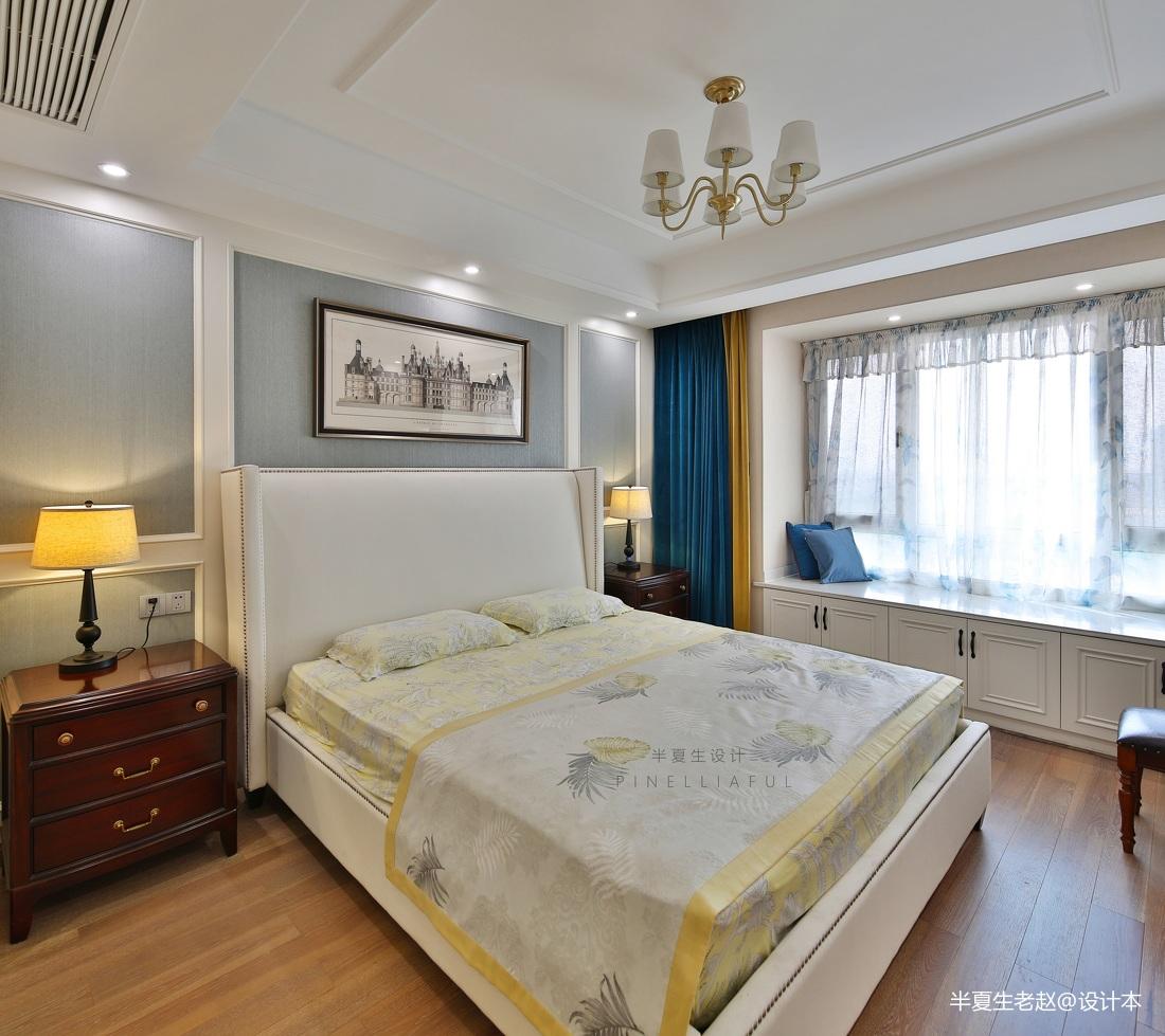 三居住宅美式卧室设计