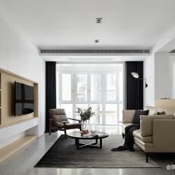 住宅三居现代客厅设计