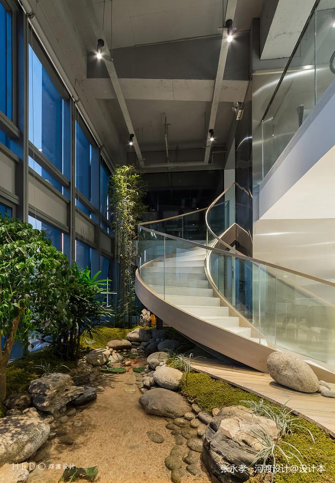 九鼎医管办公楼梯设计