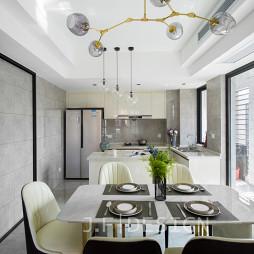 四居现代开放式厨房设计
