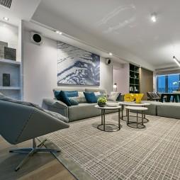 现代私宅客厅设计