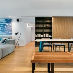三居私宅餐厅设计