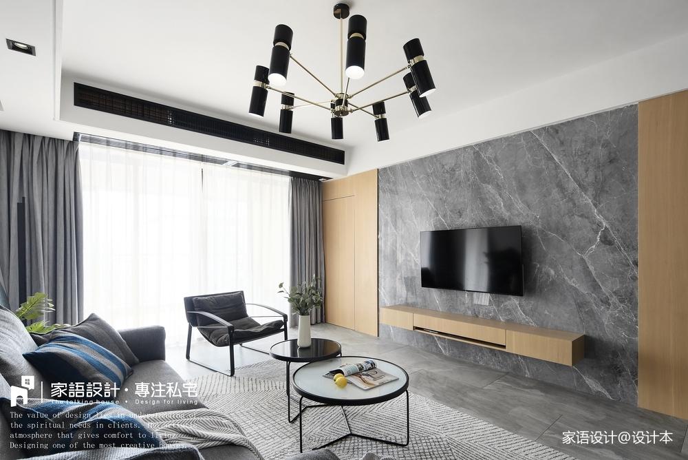 三居住宅客厅设计