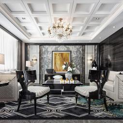 新古典客厅设计图