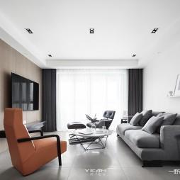 九龙仓风华里现代客厅设计