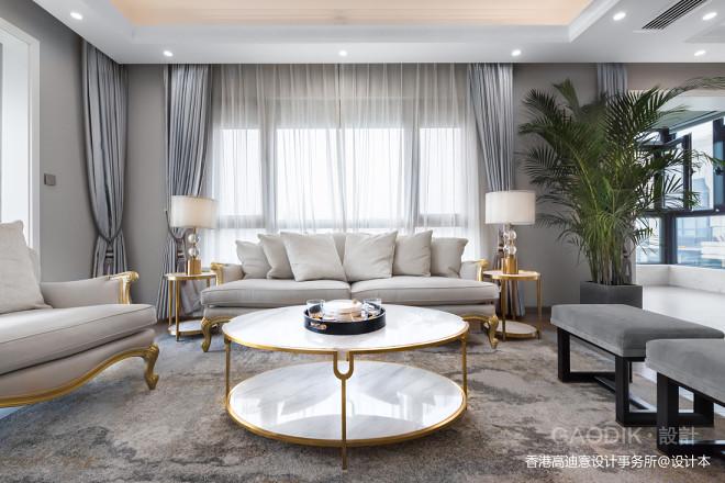安静优雅的客厅设计