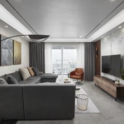 三居现代客厅设计