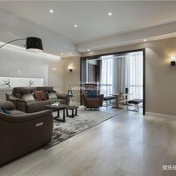 简单时尚的客厅设计