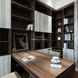 深色调的书房设计