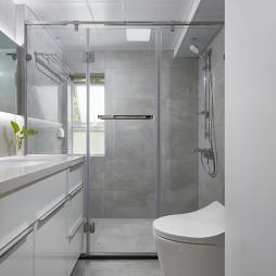 现代极简卫浴设计