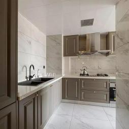 三居美式厨房设计