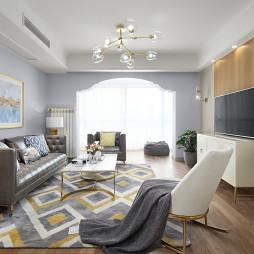 四居混搭客厅装修设计