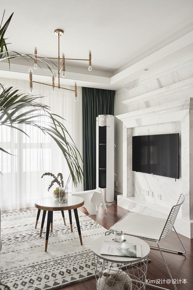 三居北欧风格客厅设计