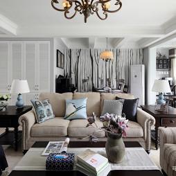 美式客厅空间设计
