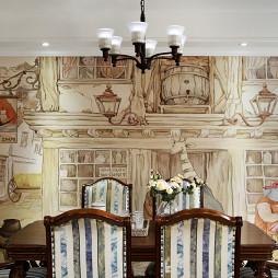 美式餐厅装修设计图