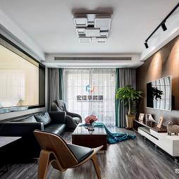 三居现代简约客厅设计