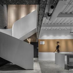 办公室旋转楼梯设计
